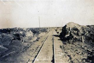 A light railway up to Passchendale