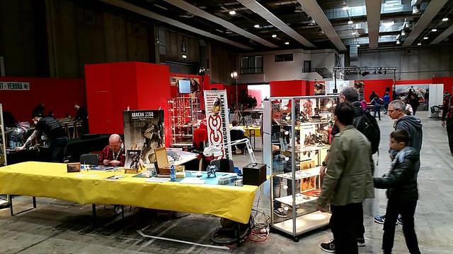 MODEL EXPO Verona 2017 - STAND NKGC