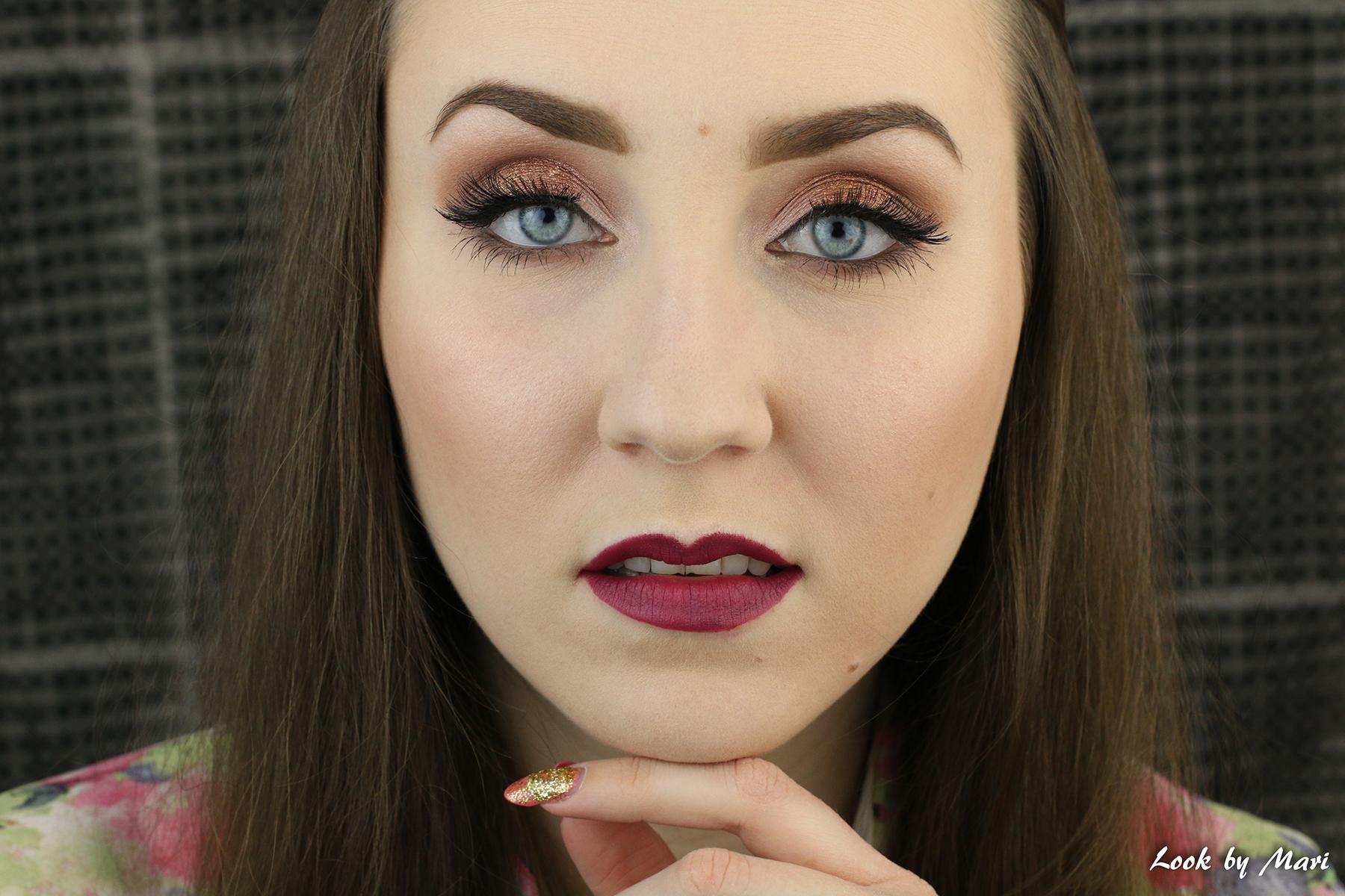 1 copper easy eye makeup ideas tutorial inspo