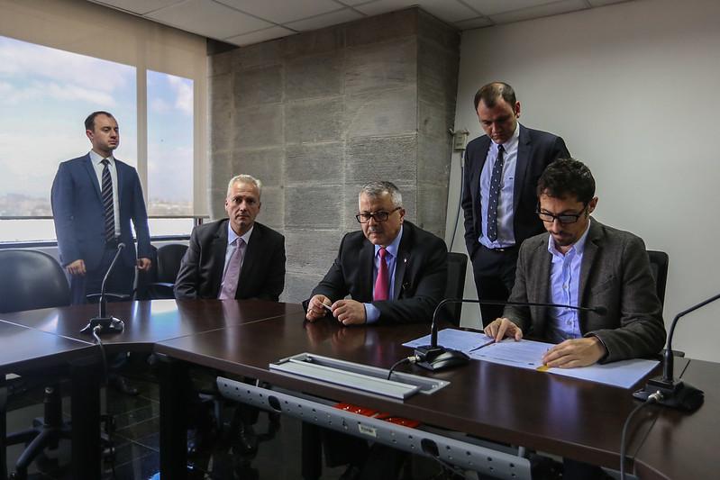 Firma de Convenio Mineduc y Embajada de Turquía