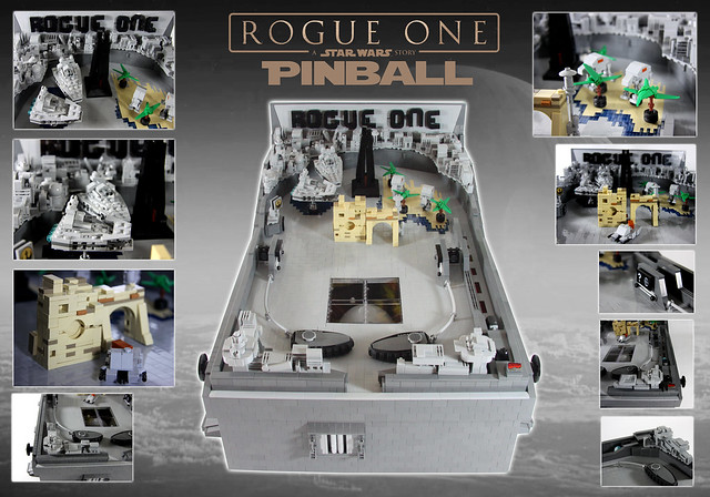 Rogue One Pinball Machine, by modestolus, on Flickr