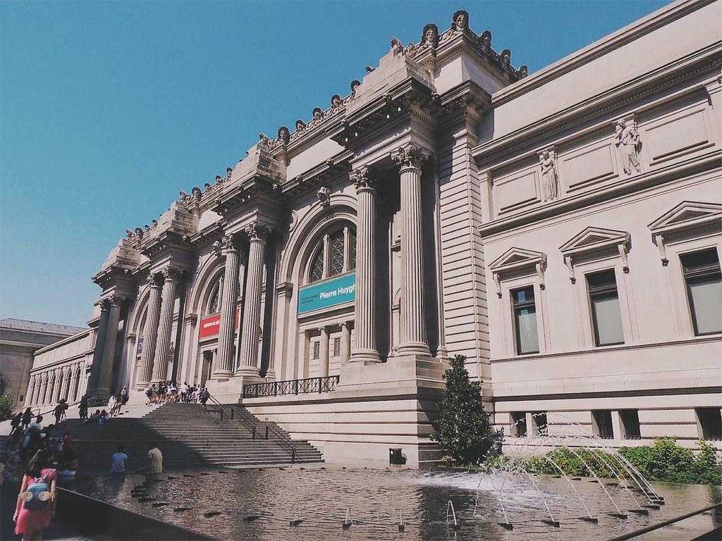 Dá até pena se enfiar num museu num dia lindo como esse, mas o acervo do MET compensa.