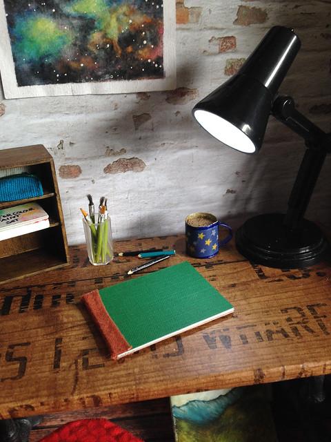 Juno's desk