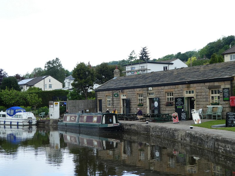 Five Rise Locks Cafe, Bingley