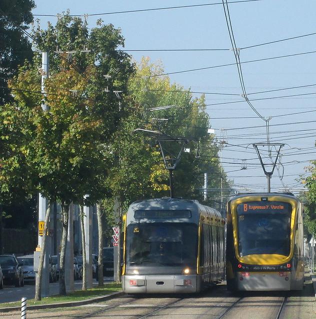 Porto Metro Trams