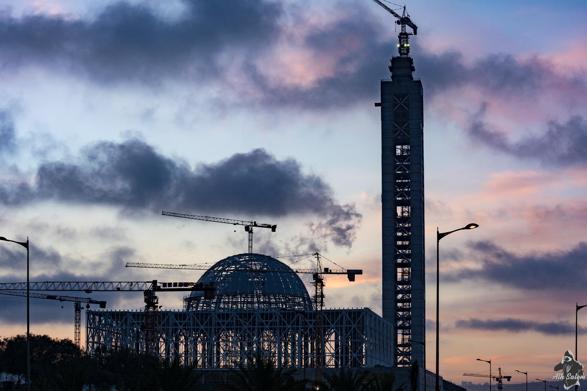 مشروع جامع الجزائر الأعظم: إعطاء إشارة إنطلاق أشغال الإنجاز - صفحة 19 33677345726_2a72a9c725_k