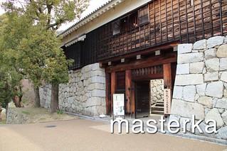 松山城二の丸入口