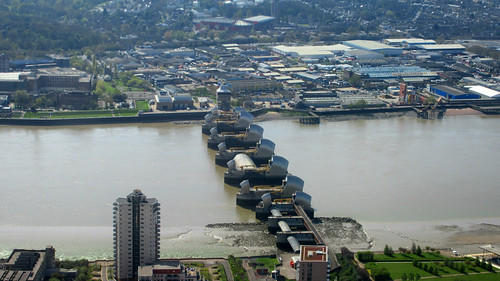 He works on the Thames Barrier