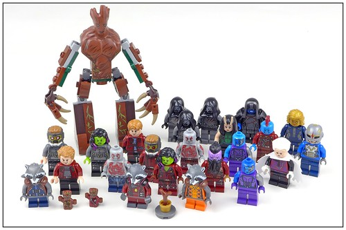 LEGO SuperHeroes Guardians of the Galaxy Vol 2 (2017) figures32