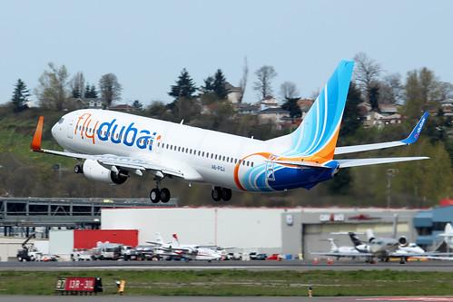 Boeing 737-8KN(WL) Flydubai A6-FGJ LN6351
