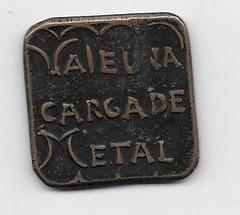 1874 Mexico Mina del Eden Zacatecas Token reverse
