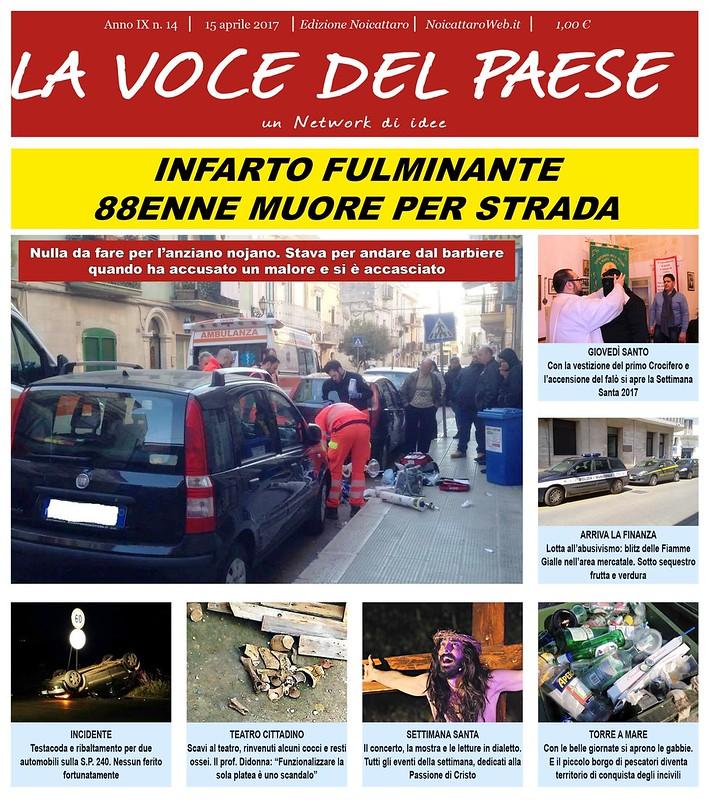 Noicattaro. Prima pagina n. 14-2017 intero