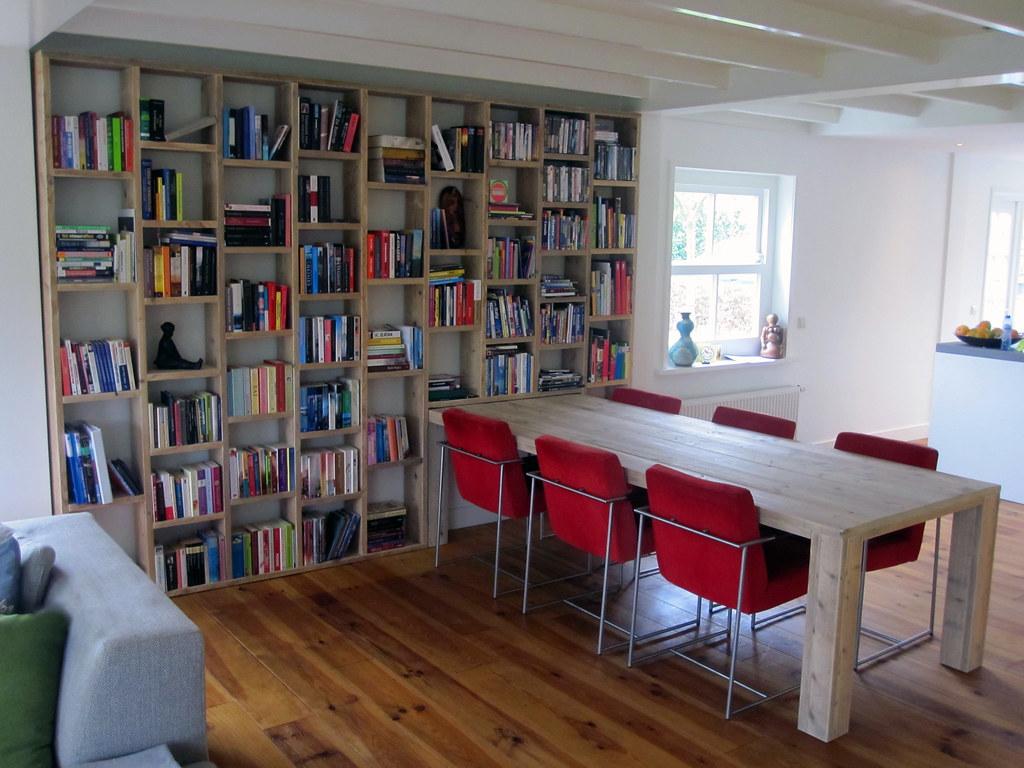 boekenkast letterbak steigerhout te koop bij w00tdesign by w00tdesign meubels