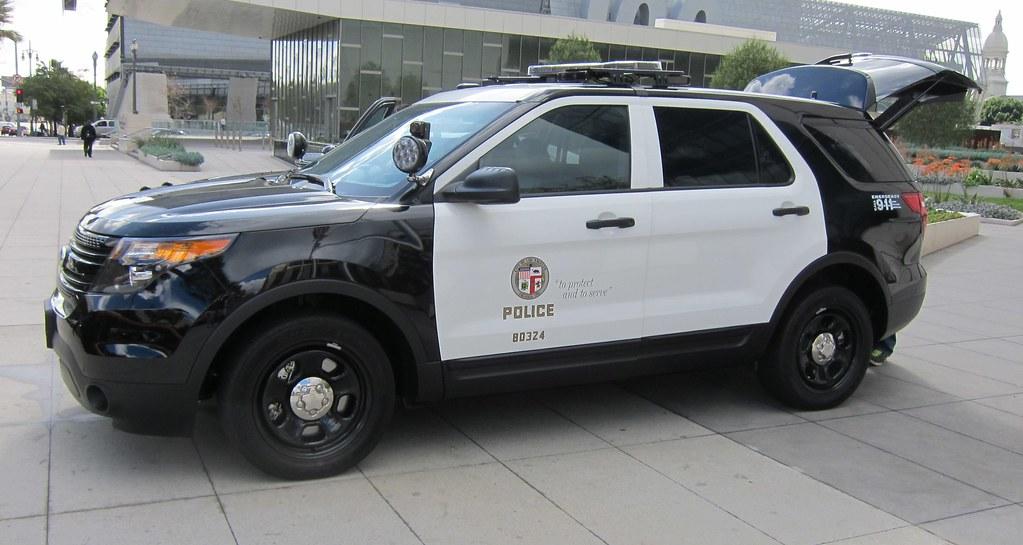 Black patrol white cops with big tits riding big black cock on the job - 3 8