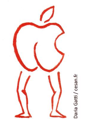 """""""La censure d'Apple récidive et frappe sous la ceinture"""", Par Daria Gatti"""