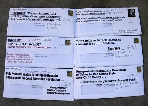 Junk Mail Letter Sample