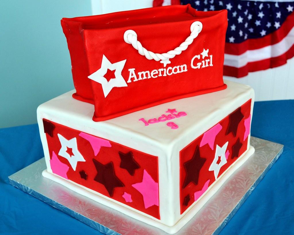 American Girl Doll Cake Ideas