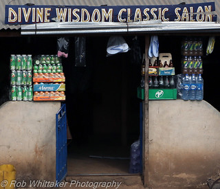 Divine Wisdom Classic Salon Nigeria Signs | by Rob Whittaker Photography