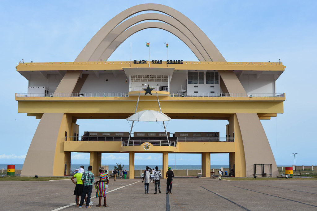 independence arch accra ghana picture credit fiona