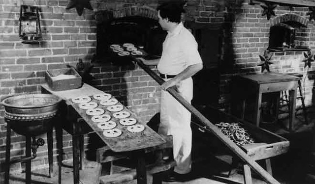 pretzel-making