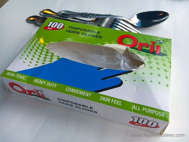 Blue Inn Seafood Kepong - Disposable Gloves