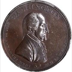 Washington Fame Medal obverse