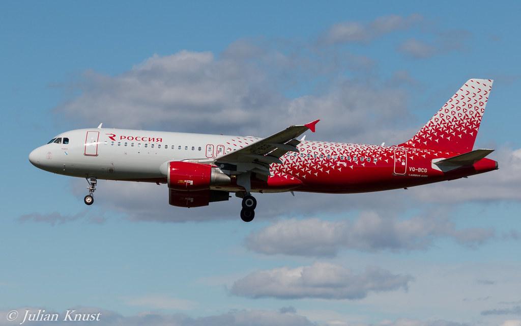 Rossiya / VQ-BCG / Airbus A320-214