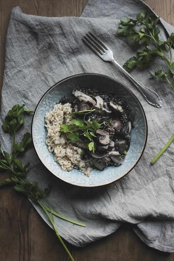 lentil & mushroom au vin 1
