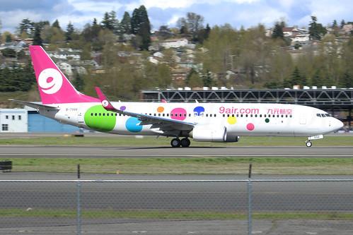 Boeing 737-86X(WL) 9 Air B-7998 LN6370