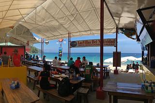 Puerto Galera - Restaurant day