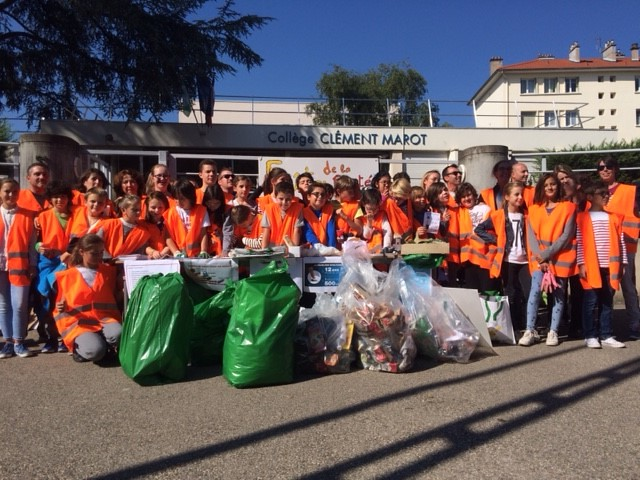 Le collège Clément Marot en démarche de développement durable