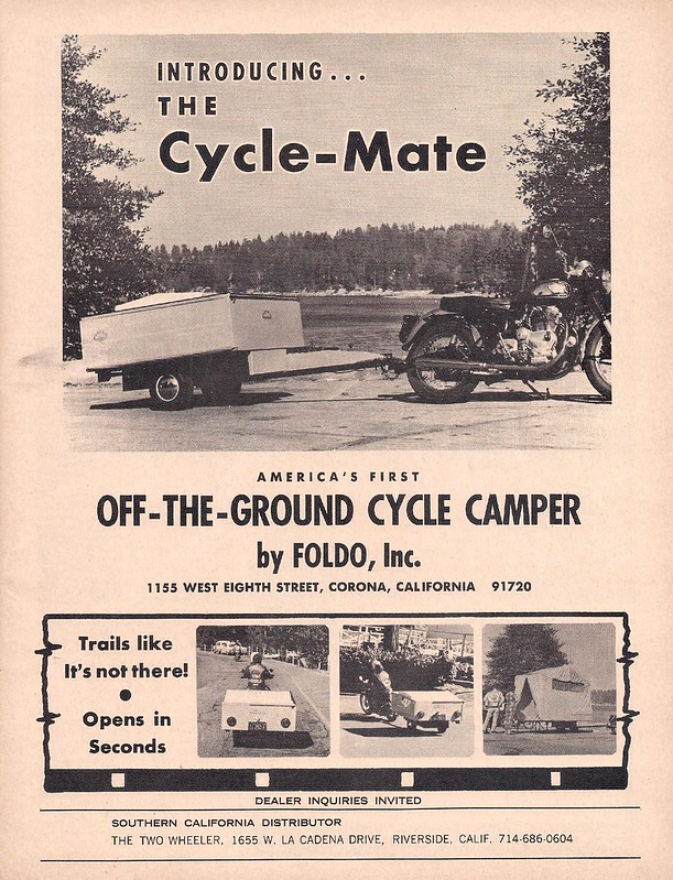 Cycle-Mate camper