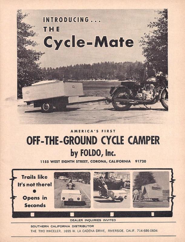 Cycle-Mate camper