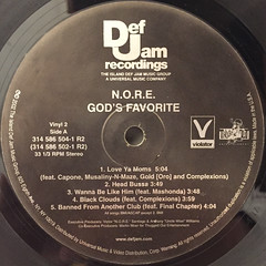 N.O.R.E.:GOD'S FAVORITE(LABEL SIDE-C)