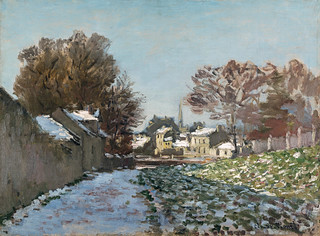 W 349 - Claude Monet - Snow at Argenteuil [1874] | by petrus.agricola