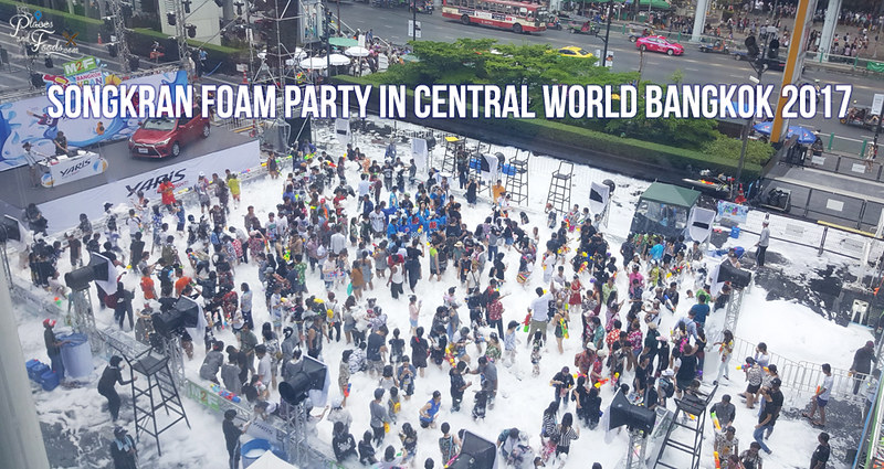 central world foam party