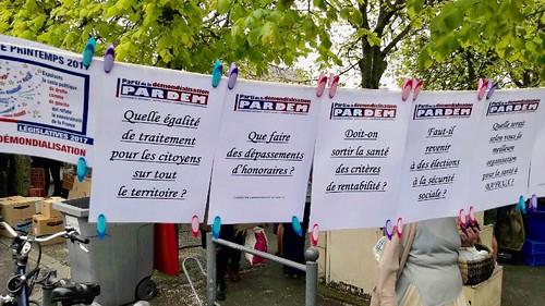 PAROLE LIBRE au marché de Bayeux 15 avril 2017