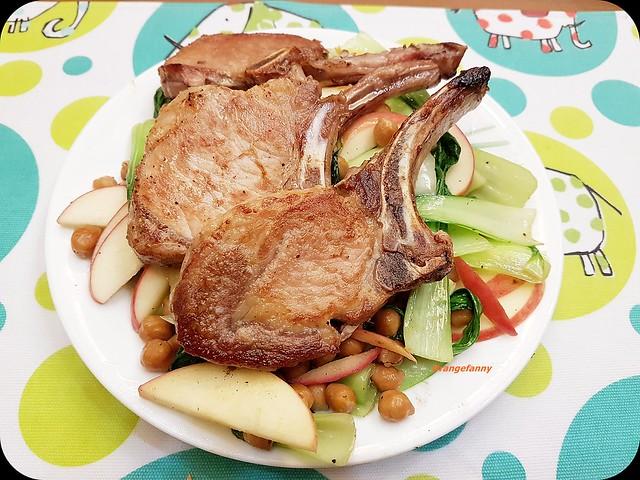 170327 煎豬排與熱萵苣沙拉-01