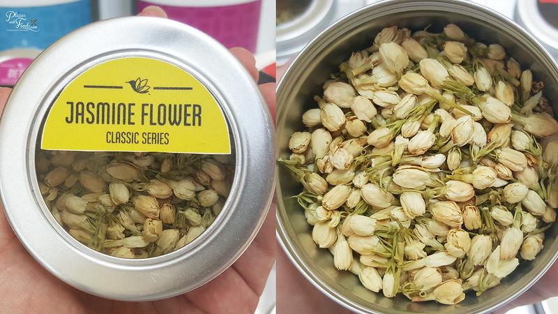 steaped tea malaysia jasmine flower