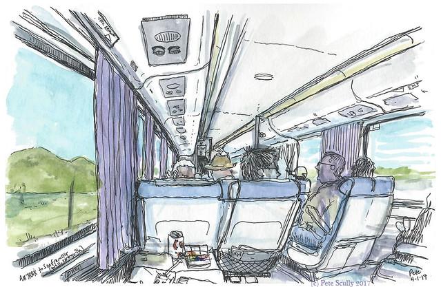 Amtrak from Davis