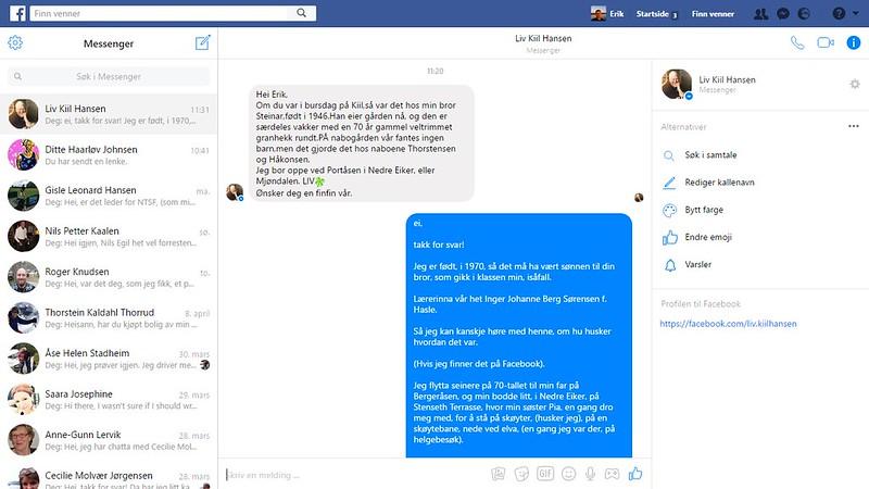 facebook liv kiil hansen