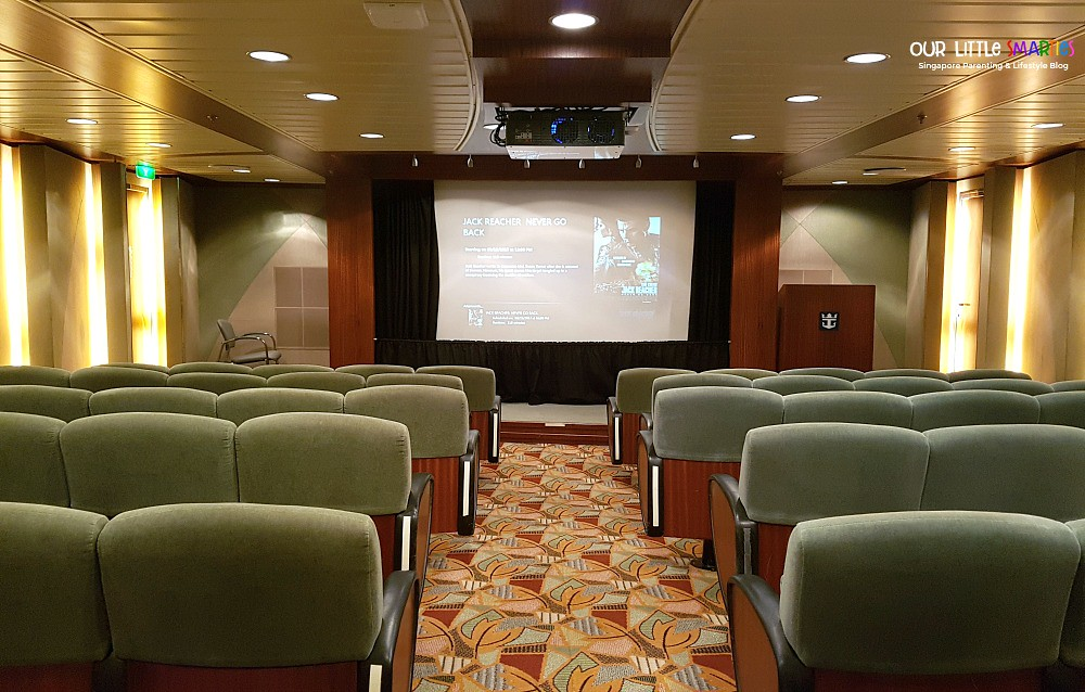 Mariner of the Seas Screening Room on Deck 2
