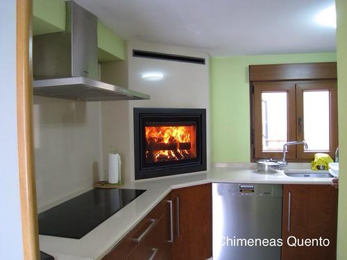Chimenea quento cocina con dovre 2175 - Chimeneas quento ...