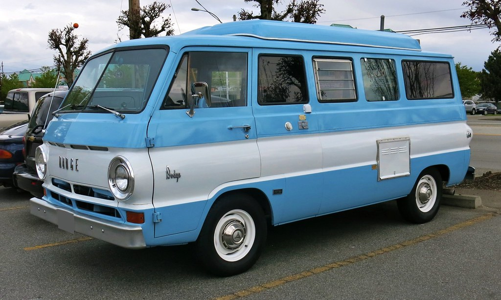 1968 dodge a108 sportsman camper van