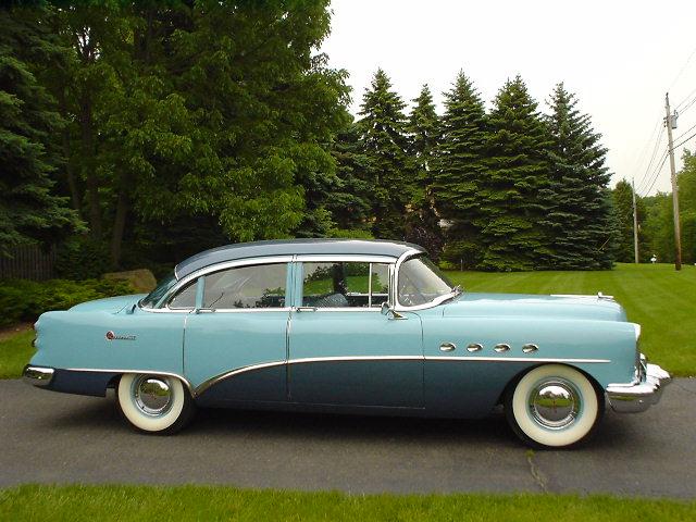 1954 buick roadmaster riviera 4 door sedan hipo 50 39 s for 1954 buick 4 door