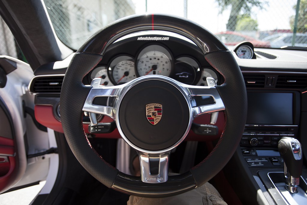 Ma Carbon Fiber Steering Wheel 991 Turbo S Wheels
