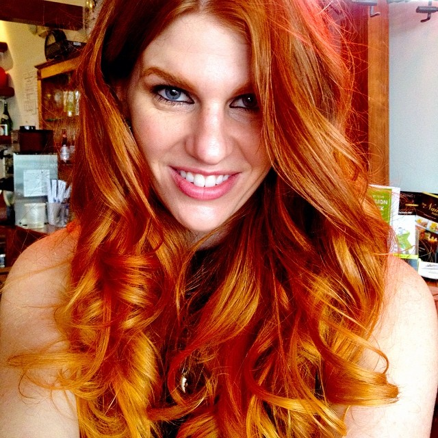 Natural Copper Red Hair