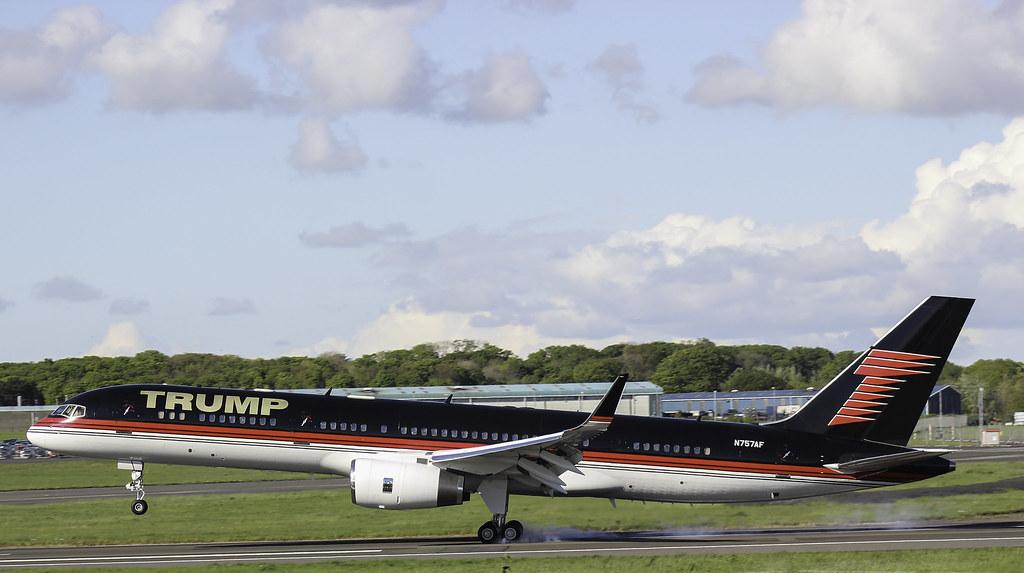 Donald Trump Boeing - 757 | Donald Trump Boeing 757 ...