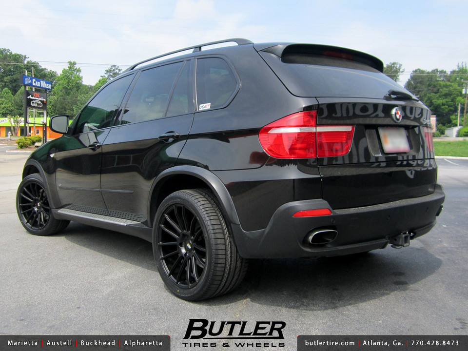 BMW X5 with 20in Savini BM9 Wheels | Additional Picture ...
