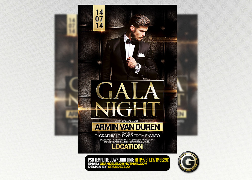 gala night flyer template psd download here graphicriver flickr